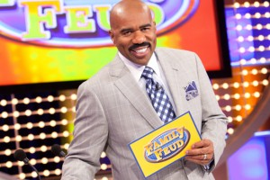 Family Feud host Steve Harvey