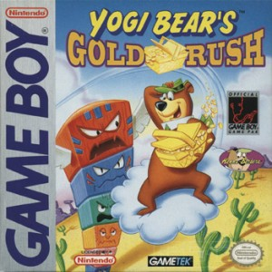 Yogi Bear's Gold Rush, one of GameTek's non-game show releases