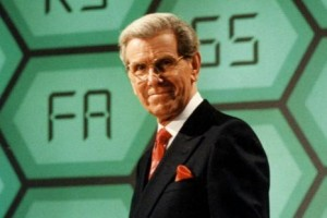 Bob Holness, host of the UK's Blockbusters.